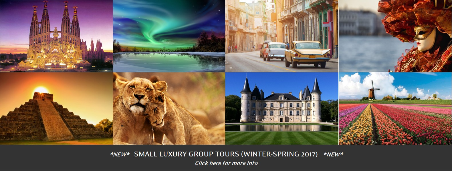 Small Luxury Group Tours
